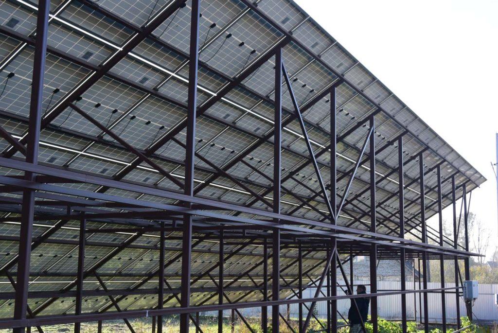 конструкция для солнечных панелей