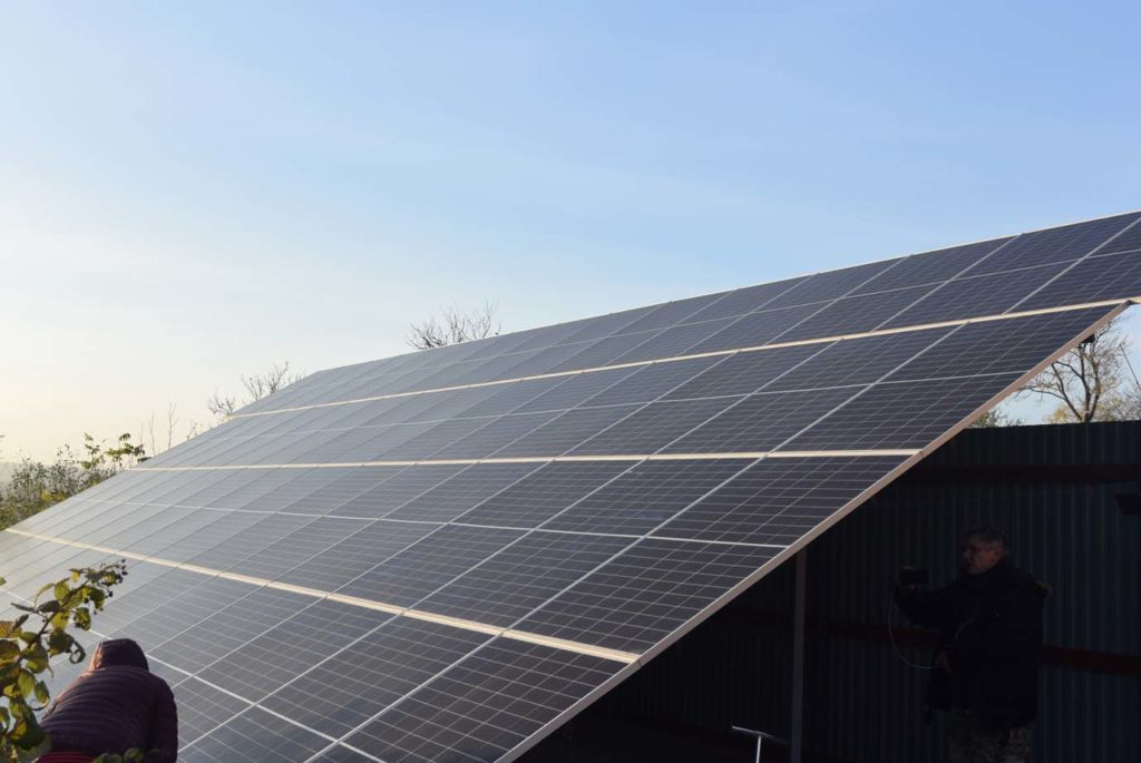 жертвою сонячної енергетики