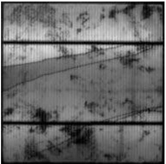 Трещины в солнечном модуле