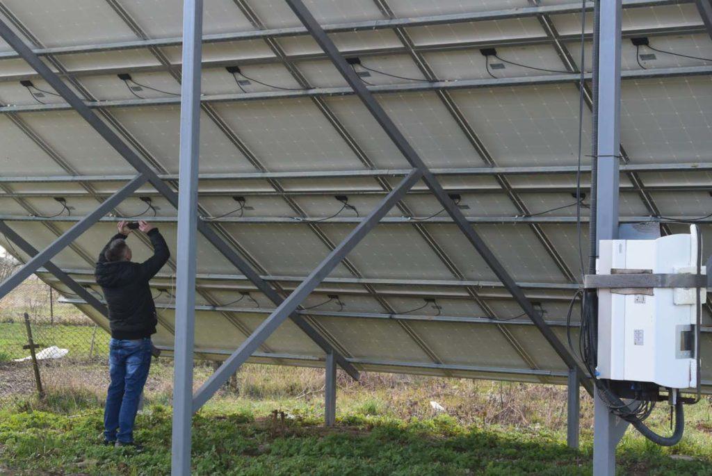 конструкций под солнечные панели
