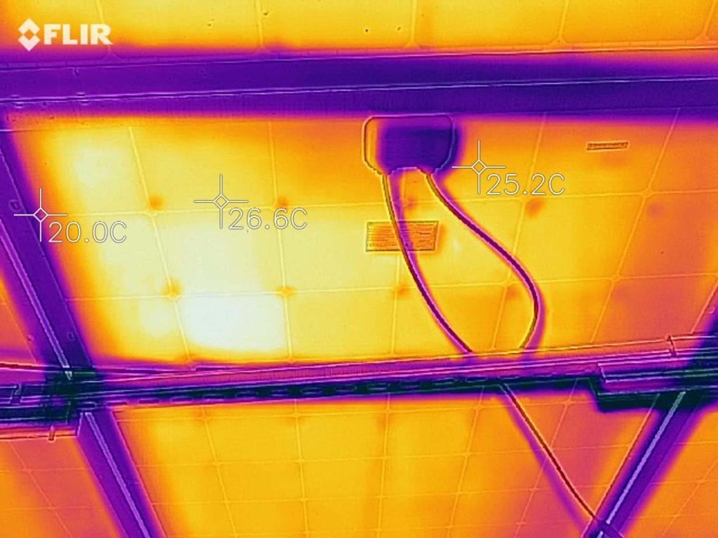 дефекты, видимые тепловизором