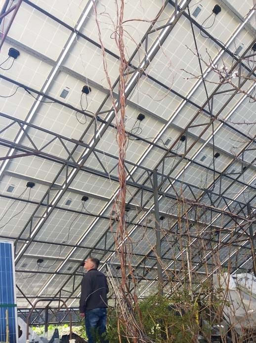 конструкції для сонячних панелей
