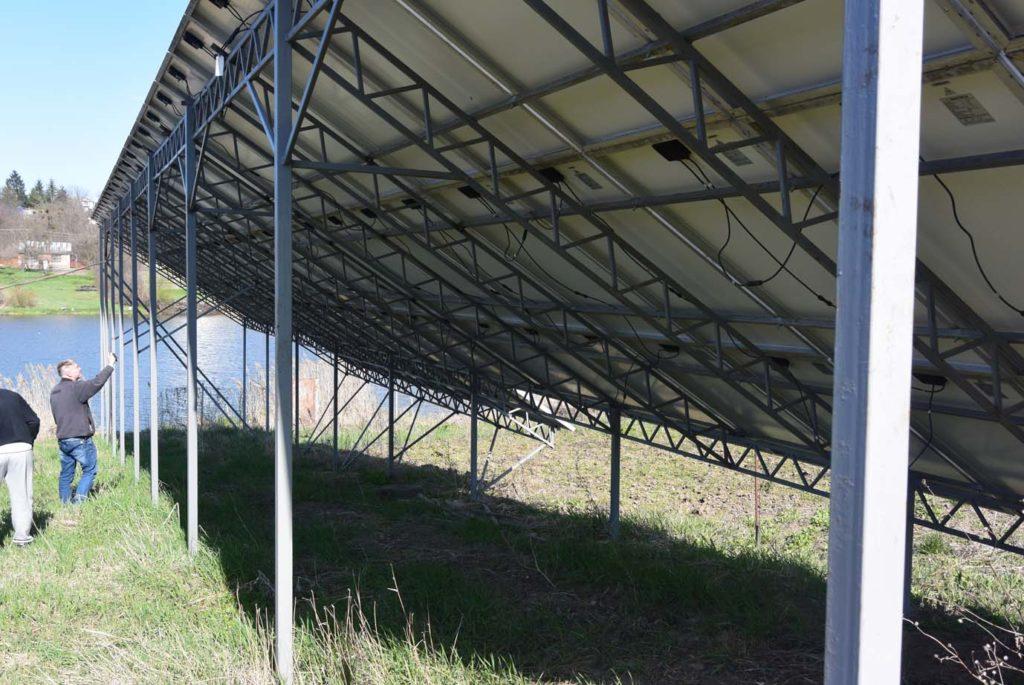Конструкция под солнечные панели
