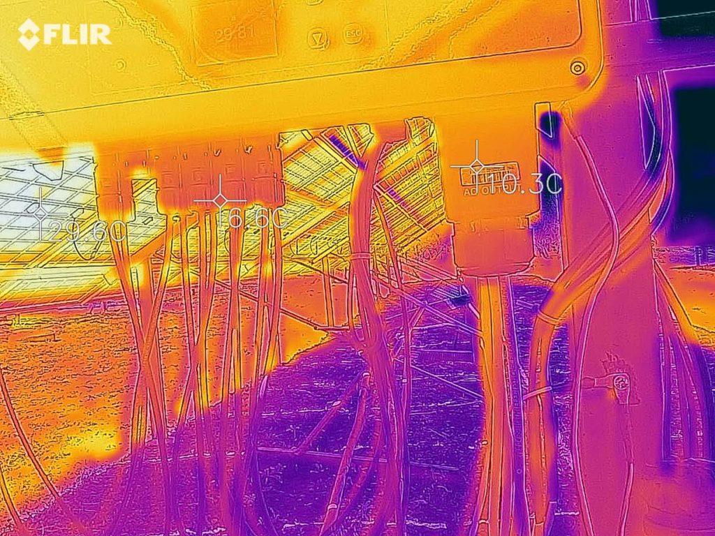 Тепловізійне обстеження сонячної станції