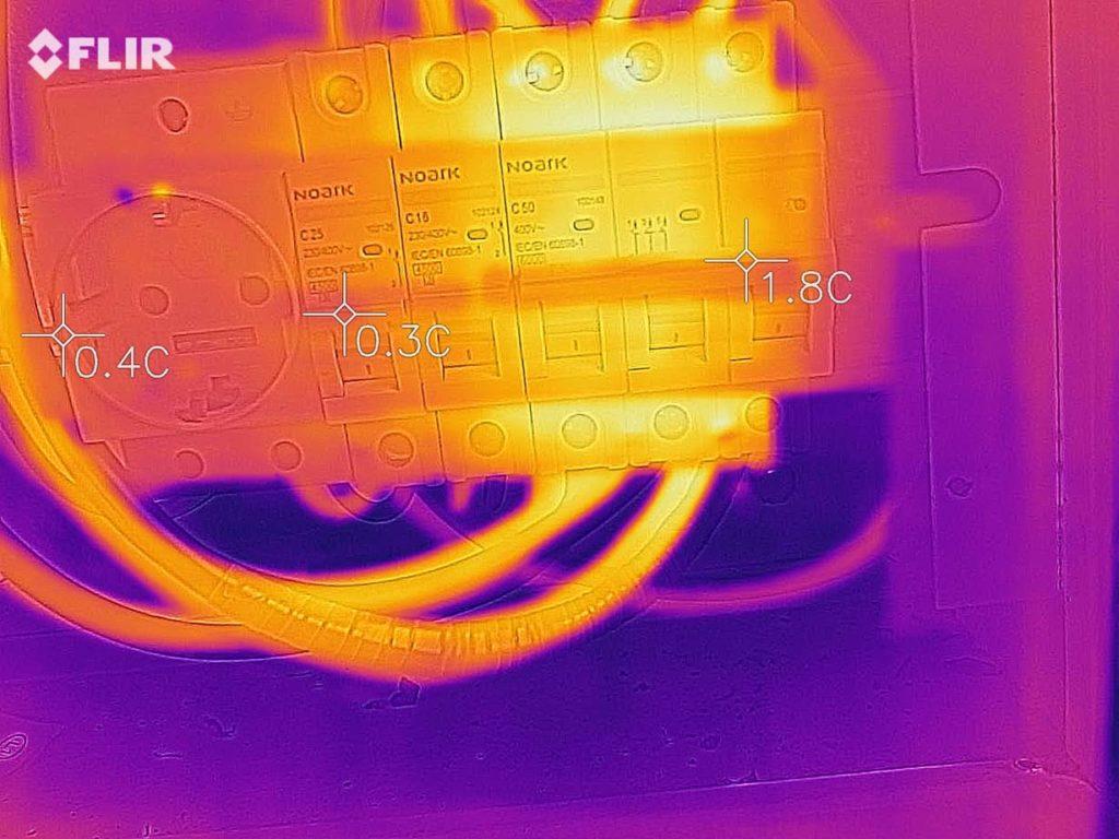 температура автоматов была в разумных пределах